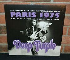 DEEP PURPLE - Live In Paris 1975, Import 3LP BLACK VINYL Gatefold New & Sealed!