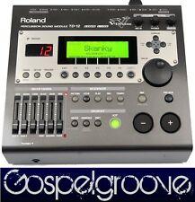 Roland TD-12 V-Drums Percussion-Soundmodul TD12  OPV & Neuwertig + GEWÄHR