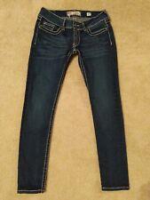 BKE Buckle Stella Dark Skinny Jeans 28S 28X28