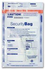 Bank Deposit Bag - Large Clear Single Pocket