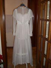 abito da sposa enrico vessucci , colore bianco, tg 46