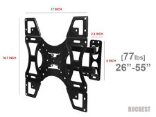 LED LCD TV Full motion Swivel Tilt TV Wall Mount 26 - 55 32 37 40 42 47 55