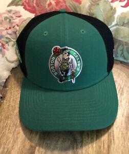 Boston Celtics Size Medium/Large FOIL LOGO NBA Baseball Cap Hat NEW ERA $39 NWT