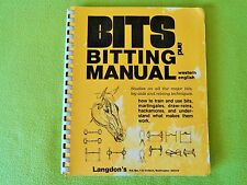 Langdon's BITS and BITTING Manual Book~English & Western Horse Training~NO RESER