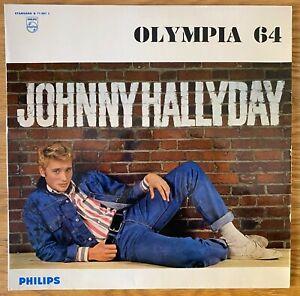"Johnny HALLYDAY  ""Olympia 64"" 33T Original BIEM 1964 EX/EX"