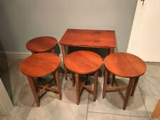 Wood Veneer Rectangle Vintage/Retro Nested Tables