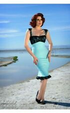 Very rare Tiffany Blue Micheline Pin Up Girl Boutique dress from USA *Worn Once*