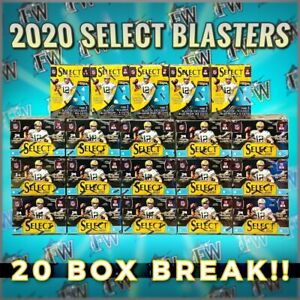 Kansas City Chiefs Select 20 Blaster Box Football Panini NFL 2020 Case Break 154