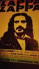 "Zappa plays Zappa 6/17 Promo Poster 14""x22"" While Supplies Last!"