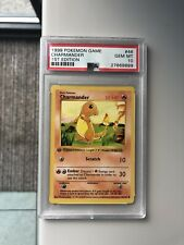 Charmander 1st Edition PSA 10 Base set 46/102 Rare Pokemon Card Gem Mint
