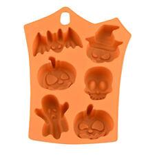 Silicone Cake Mold Bake Halloween Pumpkin/Ghost/Skull/Bat Baking Mould Pie Cake
