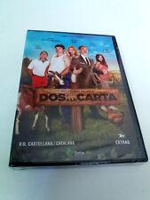 "DVD ""DOS A LA CARTA"" PRECINTADO SEALED SERGI LOPEZ CAROLINA BANG ADRIA COLLADO"