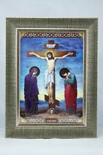 The Crucifixion Christian Icon Икона Распятие Господнее Ikone Kreuzigung Christi