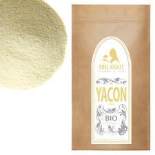 250g Premium BIO Yacon Pulver | EDEL KRAUT (Smallanthus sonchifolius) 100% Natur