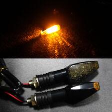 Waterproof LED For Most Motorcycle Honda, Yamaha Turn Signal Amber Light Lamp