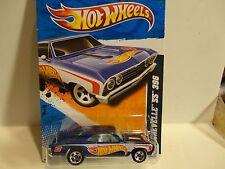 2011 Hot Wheels #151 Blue '67 Chevelle Ss 396 w/5 Spoke Wheels