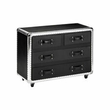 Living Room Contemporary Height 3 Chests of Drawers