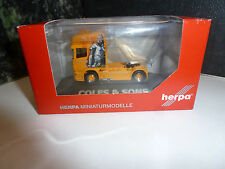 """Herpa,Scania R TL Zugmaschine """"Coles & Sons"""" (GB), 110679"""
