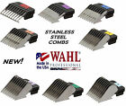 WAHL Stainless Steel Attachment GUIDE BLADE COMB*FIT Most Andis,Oster A5 Clipper