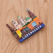 Resin Denmark Copenhagen Fridge Magnet Tourist Travel Souvenir Handmade Craft