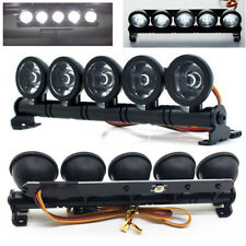 LED Roof Light Bar Set 5 Spotlight for 1/10 Crawler TRX-4 SCX10 90046 Wraith D90