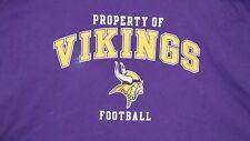 NFL Minnesota Vikings National Football League Team Apparel T Shirt XL Reebok