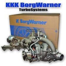 BMW Turbolader 2 Stufen Aufladung komplett mit Krümmer und allen Verbindungen