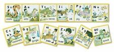 Jolly Phonics Wall Frieze : Pack of 7 Posters (precursive Letters) by Sue...