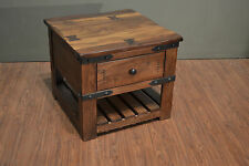 Solid Wood End Tables eBay