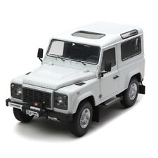 Kyosho 1/18 Scale Land Rover Defender 90 White Diecast Model Car Toy Gift