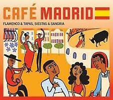 [CD] World Music - Album - Various: Cafe`Madrid