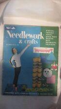 McCall's Needlework & Crafts Magazine Fall-Winter 1957 Knitting Crochet Sewing