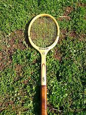 Racchetta tennis Spalding Zugarelli viintage legno ''70 usata 4 volte ottima!
