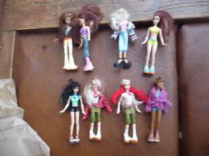 Mcdonalds  barbie  dolls  happy  meal  toys  lot  223