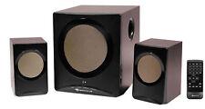 Rockville ROCK MEDIA Bluetooth Home Theater Speaker System+Sub USB/SD/FM+Remote