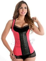 Sports Latex Vest Waist Trainer Cincher Chaleco Fajas Colombianas Reductoras