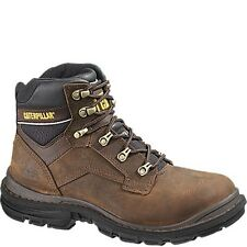 Caterpillar Generator Brown Steel Toe S3 Safety Work Boots UK 6 EU 40 Cats