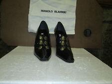 Manolo Blahnik Malaka Patent Leather Pumps 37.5