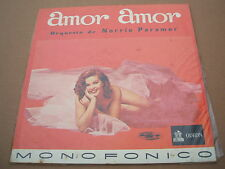 norrie paramor amor amor   south american / colombian  pressing lp