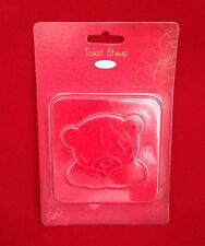 Me to you ours tatty teddy design toast stamp cadeau