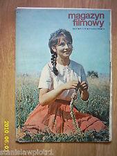 JOANNA CHAMIEC on cover archive Magazyn Filmowy 17/69 Polish magazine