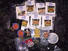 1992 BARCELONA SUMMER & ALBERTVILLE WINTER GAMES 94 BOXING USA OLYMPIC PINS LOT