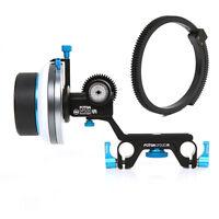 FOTGA DP500III A/B Hard Stop Follow Focus 15mm Rod DSLR Camera Rig 5D A7 A7R II