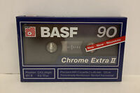 BASF Chrome Extra II 90 Type II High Bias Audio Cassette Tapes - NEW