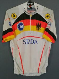 MENS CASTELLI GERMANY ITALIA ITALY CYCLING BICYCLE SHIRT JERSEY MAILLOT SIZE S 2