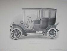 1906 PROSPER-LAMBERT 12 HP AUTOMOBILE FRENCH AUTOMOTIVE MAGAZINE PHOTOGRAVURE