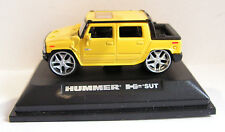 ROAD SIGNATURE (YATMING) HUMMER H2 SUT YELLOW SCALE 1:72 BOXED