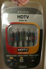 Belkin HDTV Cable Kit, Component Video + Audio