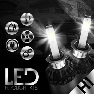 XENTEC LED HID Headlight Conversion kit H1 6000K for Audi TT Quattro 2000-2006