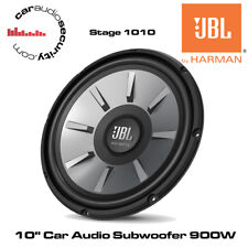 "JBL STAGE 1010 - 10"" Car Audio Subwoofer 900W Car Sub Bass Woofer 4-Ohm Woofer"